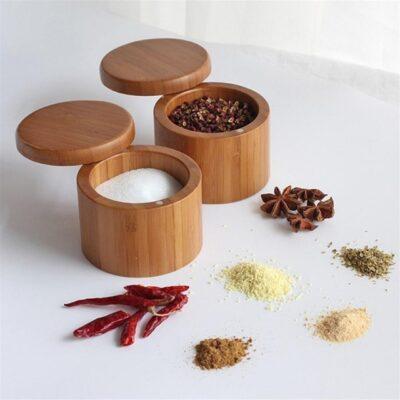 Bamboo Spice Shaker Jar