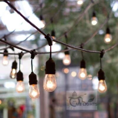 Outdoor Edison Bulb String lights