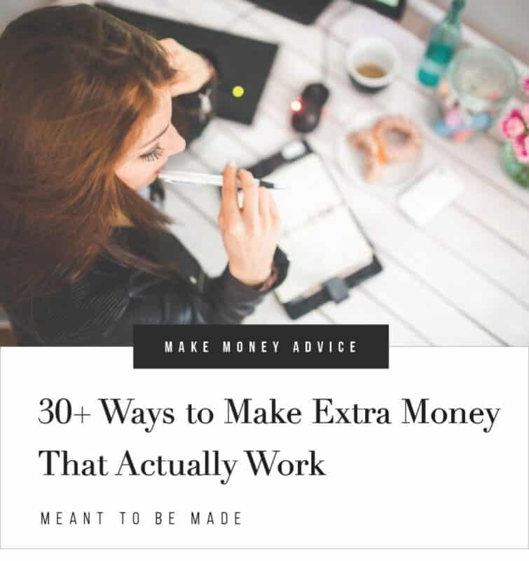 30+ Ways to Make Extra Money that Actually Work