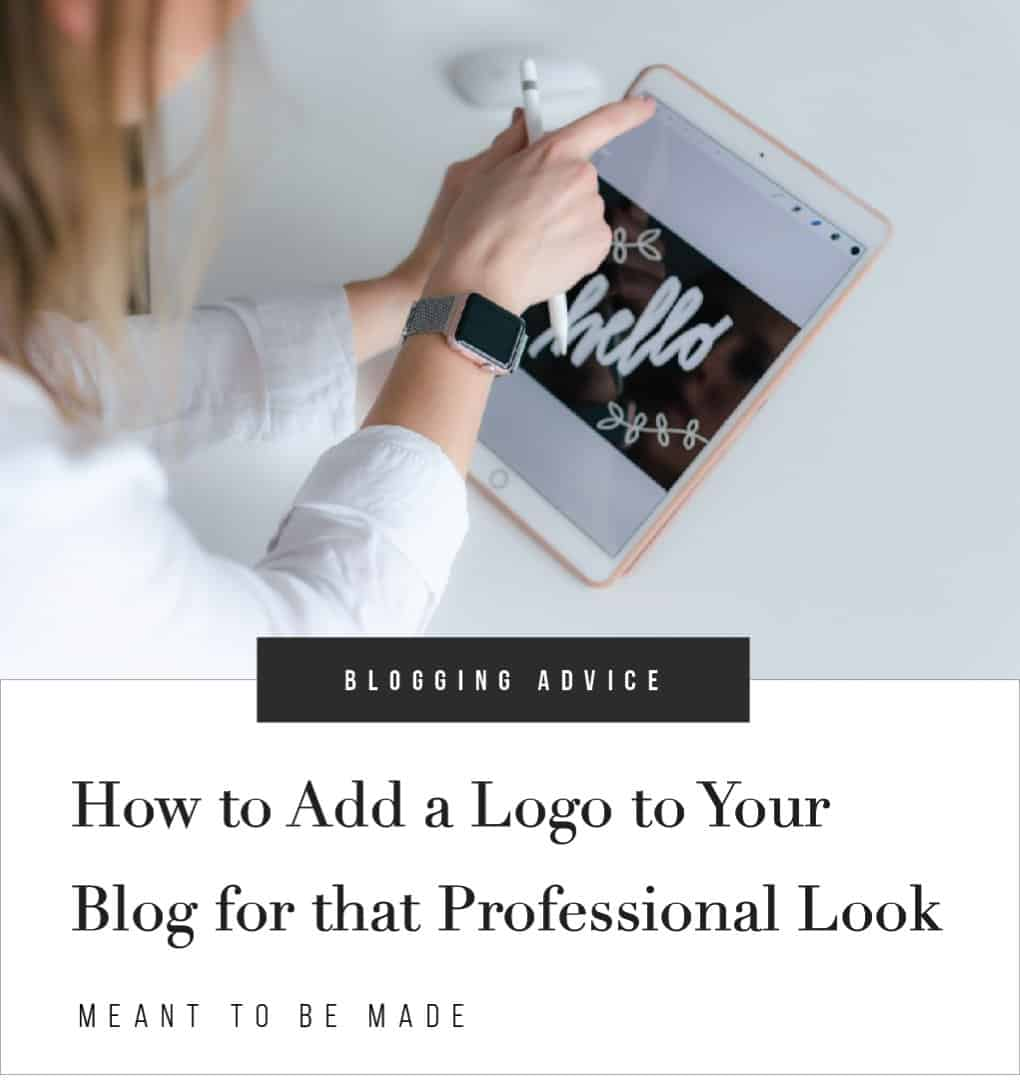 How to Add a Logo to Your Blog for that Professional Look