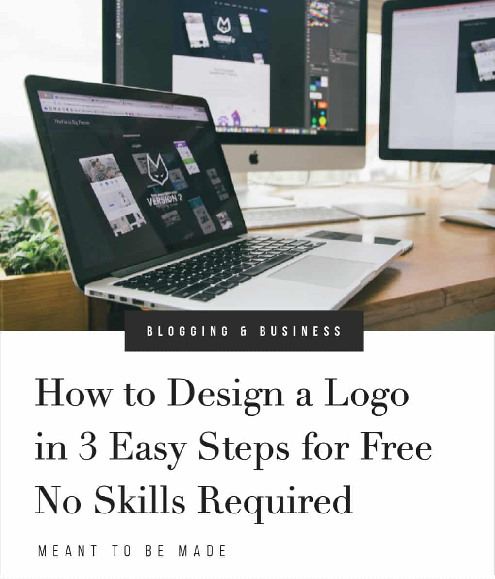 How to Design a Logo in 3 Easy Steps for Free, No Skills Required