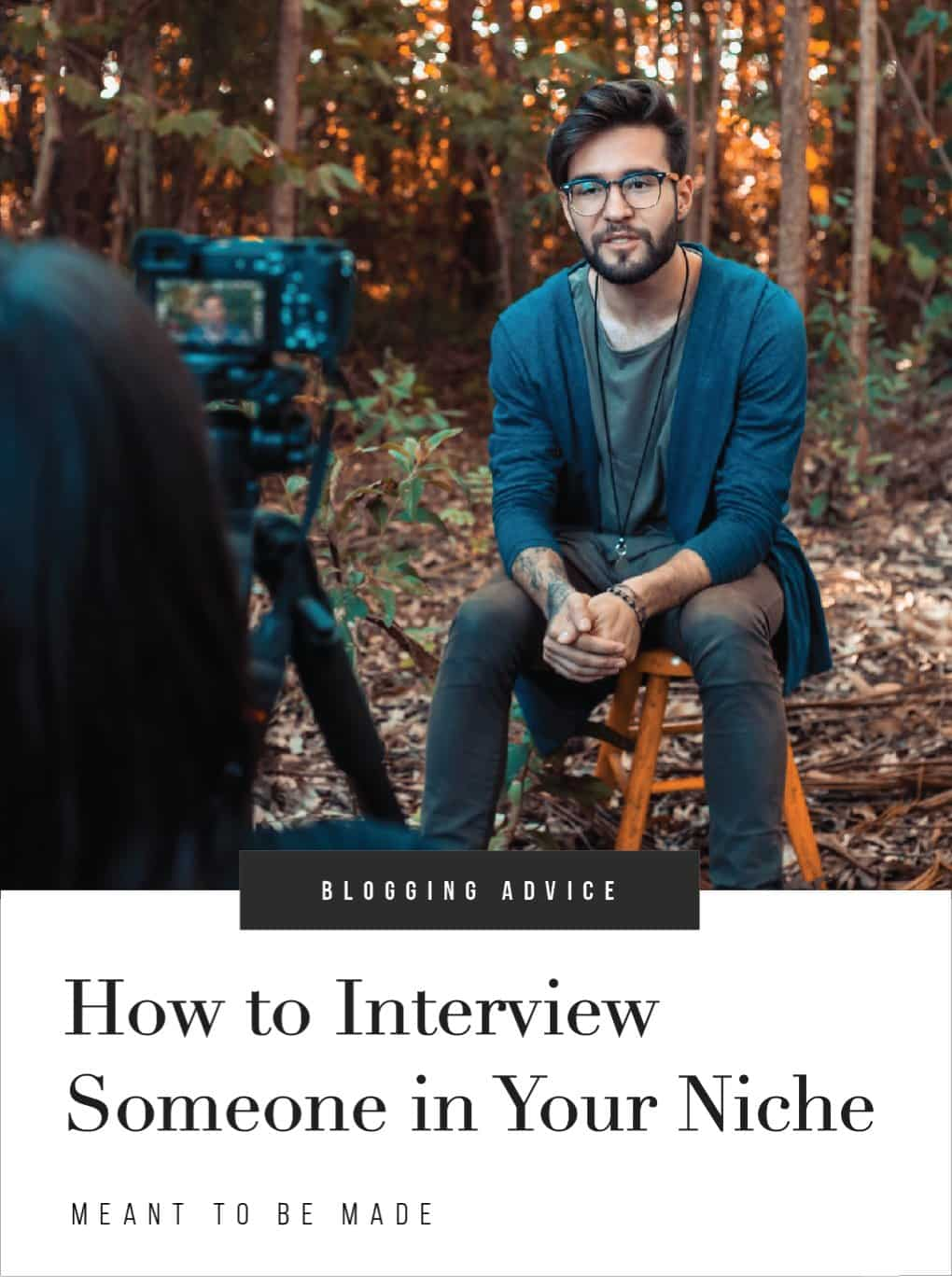 How to Interview Someone in Your Niche