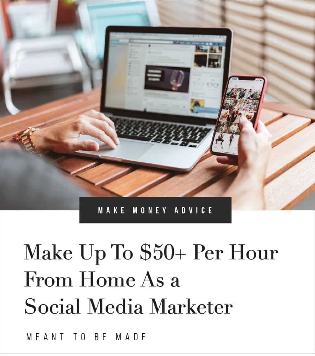 Make Up To $50+ Per Hour From Home As a Social Media Marketer