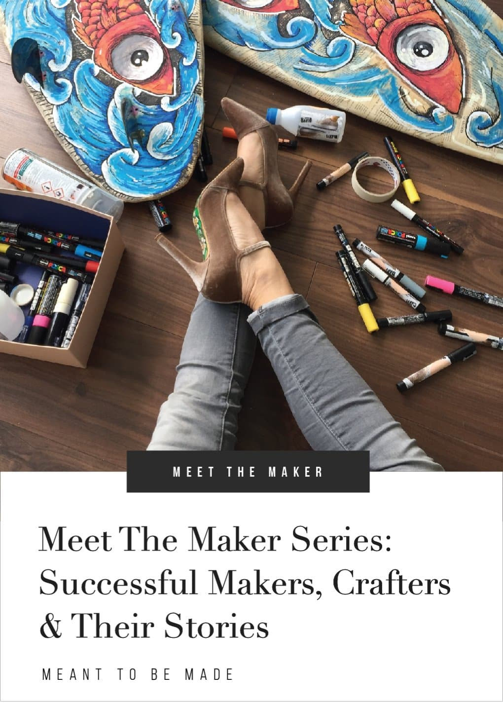 Meet The Maker Series Successful Makers Crafters & Their Stories