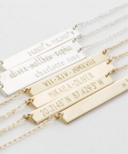 Perfect Bar Necklace From GLDN