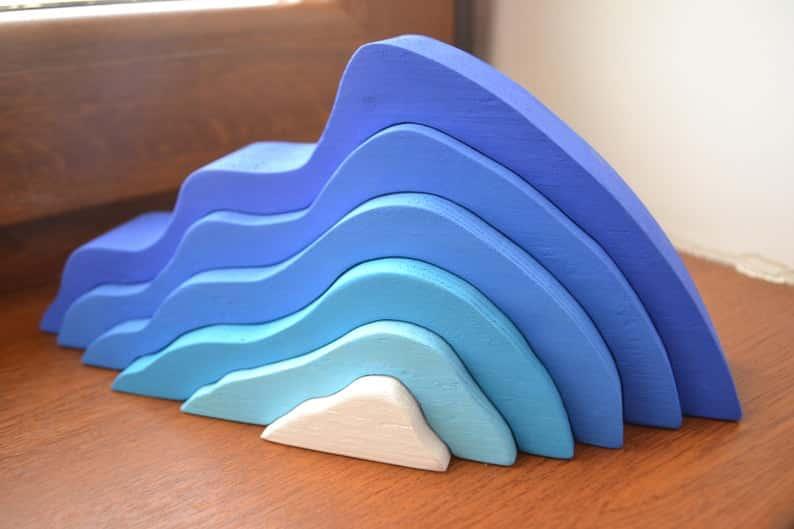 Stacking Wooden Iceberg