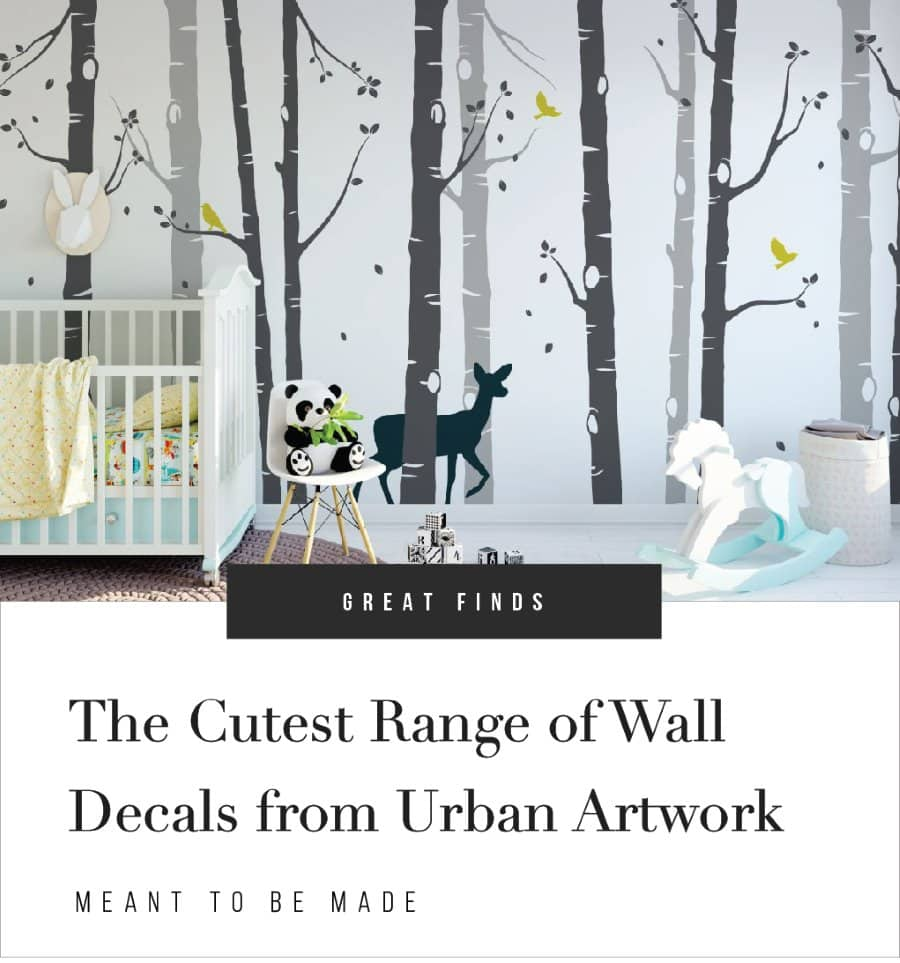The Cutest Range of Wall Decals from Urban Artwork