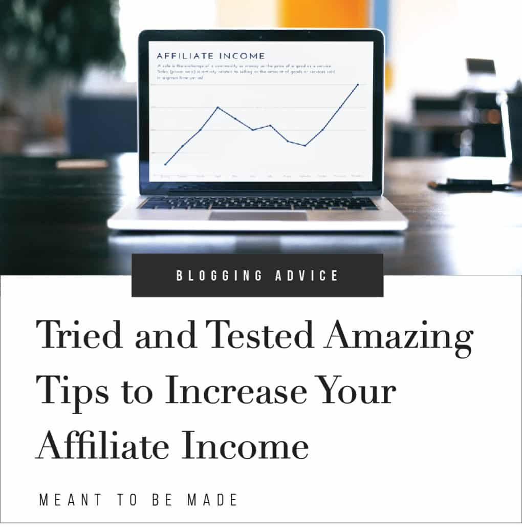 Tried and Tested Amazing Tips to Increase Your Affiliate Income