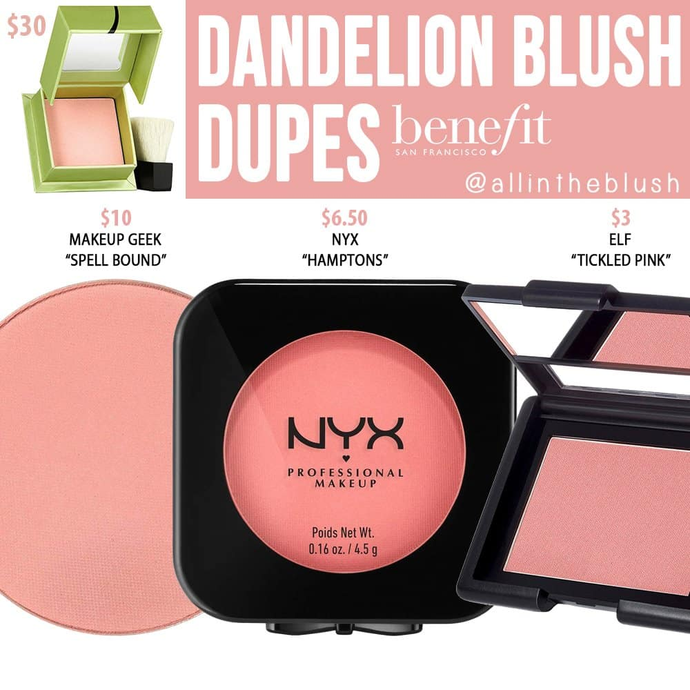 Benefit-Dandelion-Blush-Dupe