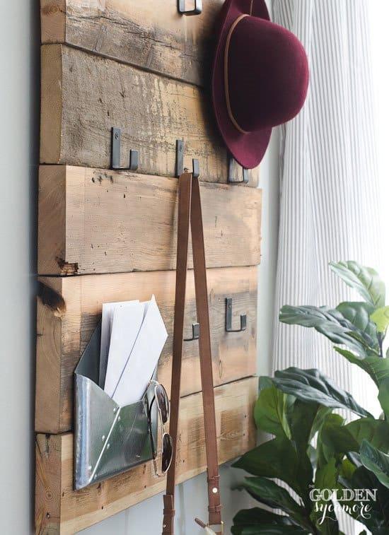 DIY-Modern-coat-rack