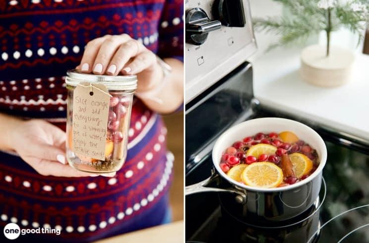 Festive Holiday Crockpot Simmer