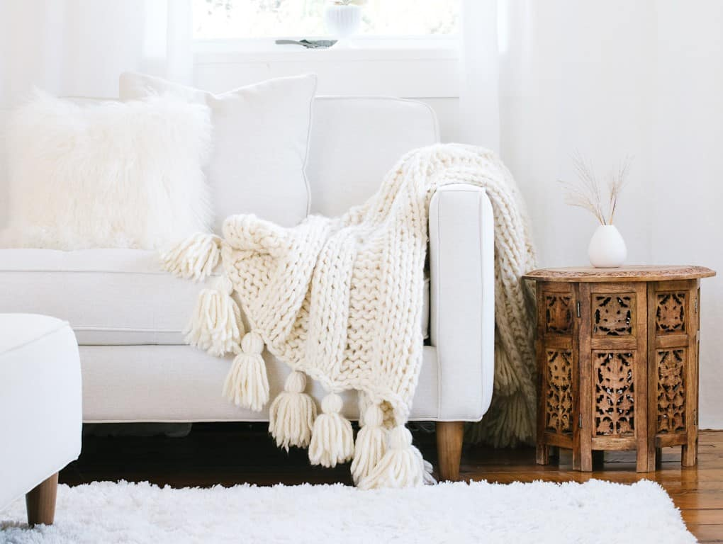 How-to-make-a-chunky-knit-blanket