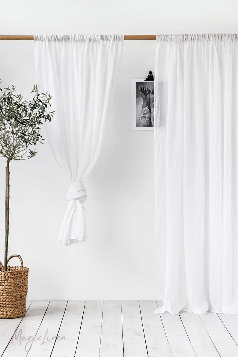Sheer-Linen-Farmhouse-Curtain-Drapes