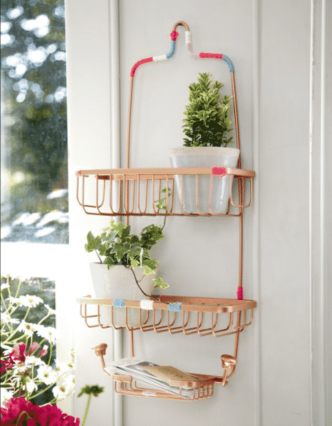 Turn-a-Shower-Caddy-Into-a-Mail-Organizer