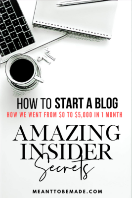 how to start a blog amazing insider secrets